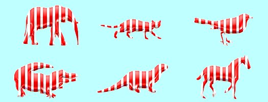 peppermint candy animals tube 1
