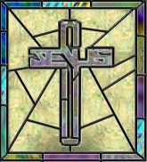 AmeriYank's Jesus stained glass cross tube
