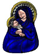 madonna and child sapphire tube